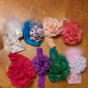Other - Lot of Infant Headbands
